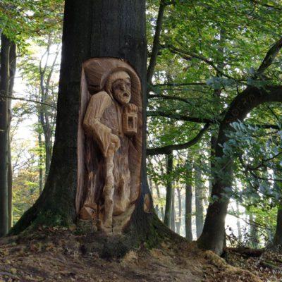 Woodcarving, Rixt van het Oerd, beetsterzwaag olterterp bos
